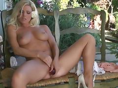 Niki Young with massive jugs and clean cunt porn video