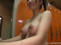 Hairy, Asian, Blowjob, Cum in Mouth, Cumshot, Doggystyle