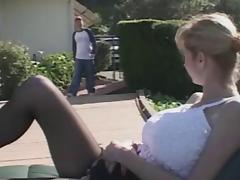 Horny Big Tit MILF Fucks The Pool Guy
