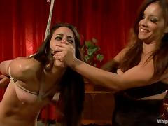 Brooklyn Lee and Lyla Storm get punished by their mistress porn video