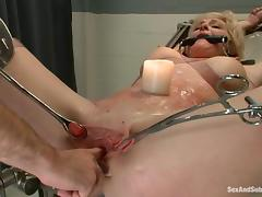 Bound, BDSM, Blonde, Bound, Hospital, Jail