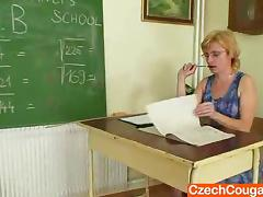Dame teacher masturbates in the flesh croak review a class