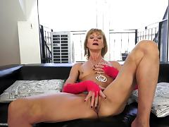 Old and Young, Anal, Blowjob, Boobs, Dildo, Fingering