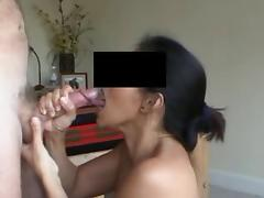 wife receives facial