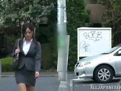 Banging Minami Asano's Pussy give Their way Effective Dress Upstairs