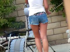 Hot Nina Tool along rides a Hawkshaw and gives a handjob relating to POV video