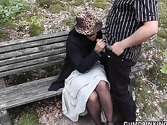 Public, Blowjob, HD, Mature, Outdoor, Public