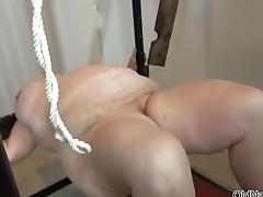 Sex-mad BBW granny loves some BDSM porn video