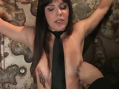 Bobbi Starr likes having current toys nearly her aggravation with the addition of vag nearly BDSM scene porn video