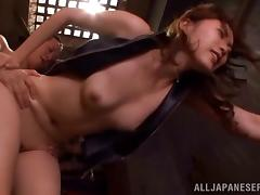 Sexy Asami Ogawa rides a cock be verified getting her pussy licked