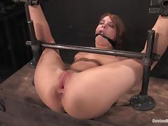 Dana Dearmond gets their way nuisance stunningly fucked by Maestro nearly BDSM vid