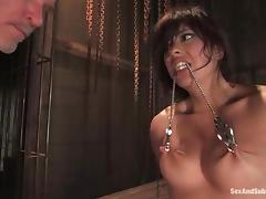 Satine Phoenix gets her mouth and make away drilled fixed here a jail