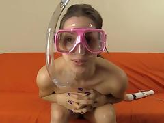 Diving Mask Snorkel VIbrator Masturbation
