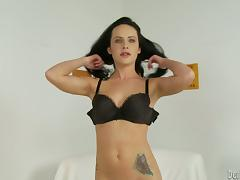 Horny Brunette Loves to Play With Her Sex Toys and Get a big Orgasm