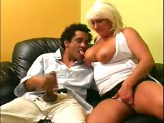 Sizzling mature Dana Hayes is pleasing that mexican dude porn video