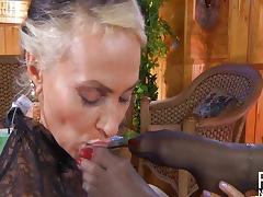 Russian lesbian love strapon