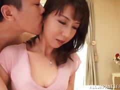 Horny Japanese chick gets her wet gash fucked