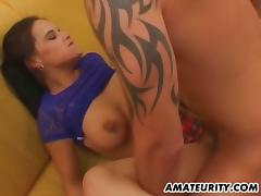 This threesome involves some real sexy cumshot and wicked hardcore sex action