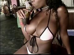 blowed by busty black bitch