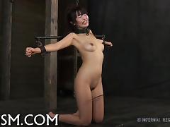 Sexy toy torturing for hawt angel