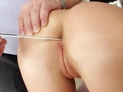 Shaved Pussy, Blonde, Doctor, Enema, Gyno, Hospital