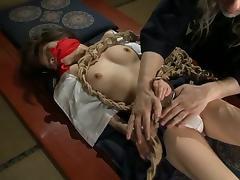 Sansai makes his kinky Japanese slave feel pain