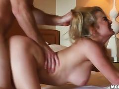 Filthy blondie changes so fast, when it comes to sex