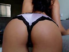 brunette webcam milf teases in her panties