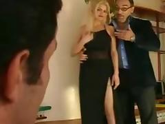 Papa - Nice blonde gets double fucked