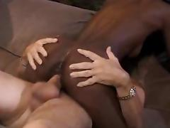 Ivory Cum on Ebony Skin