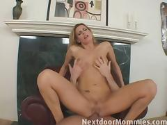 Blonde milf daryl hanah gets her tight ass busted