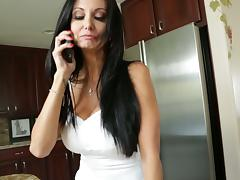 Gorgeous MILF Ava Addams Fucks And Swallows In The Kitchen