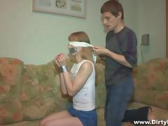 All, Babe, Blindfolded, Russian, Skinny, Small Tits