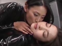 Hot latex lesbians