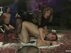 Angry, Angry, BDSM, Brunette, Femdom, Humiliation