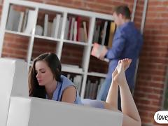 Yummy Lily Carter loves erotic anal sex