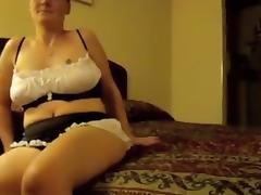 Maid got fucked in a hotel room