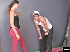 Romantic Evening with a Ballbusting Dominatrix