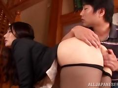 Weird-ass sex with plungers featuring Jap cutie