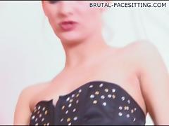 Brutal-FaceSitting Video: Irina Onyx