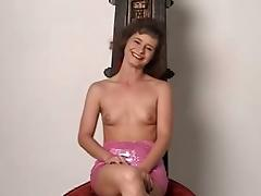 Yummy Robin Strips And Serves A Great Blowjob In An Amateur Clip