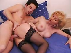 Horny MILF bitches get fucked silly porn video
