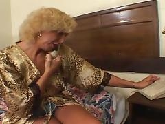 old blonde granny fucking with juvenile