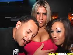 Beautiful Kylee Reese Gets Blasted Hard Inside A Club