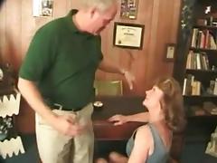 Indecent granny getting drilled hard by juvenile lad