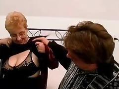 Grandma Cums to Visit