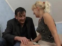Granny Receives A Fuck And Facial !