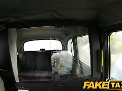 FakeTaxi: Massive large scoops on hot youthful escort