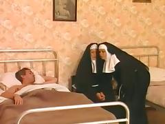Group, Group, Nun, Orgy, Penis, Threesome