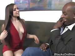Juicy Tiffany Star Has Interracial Sex With A Big Black Cock